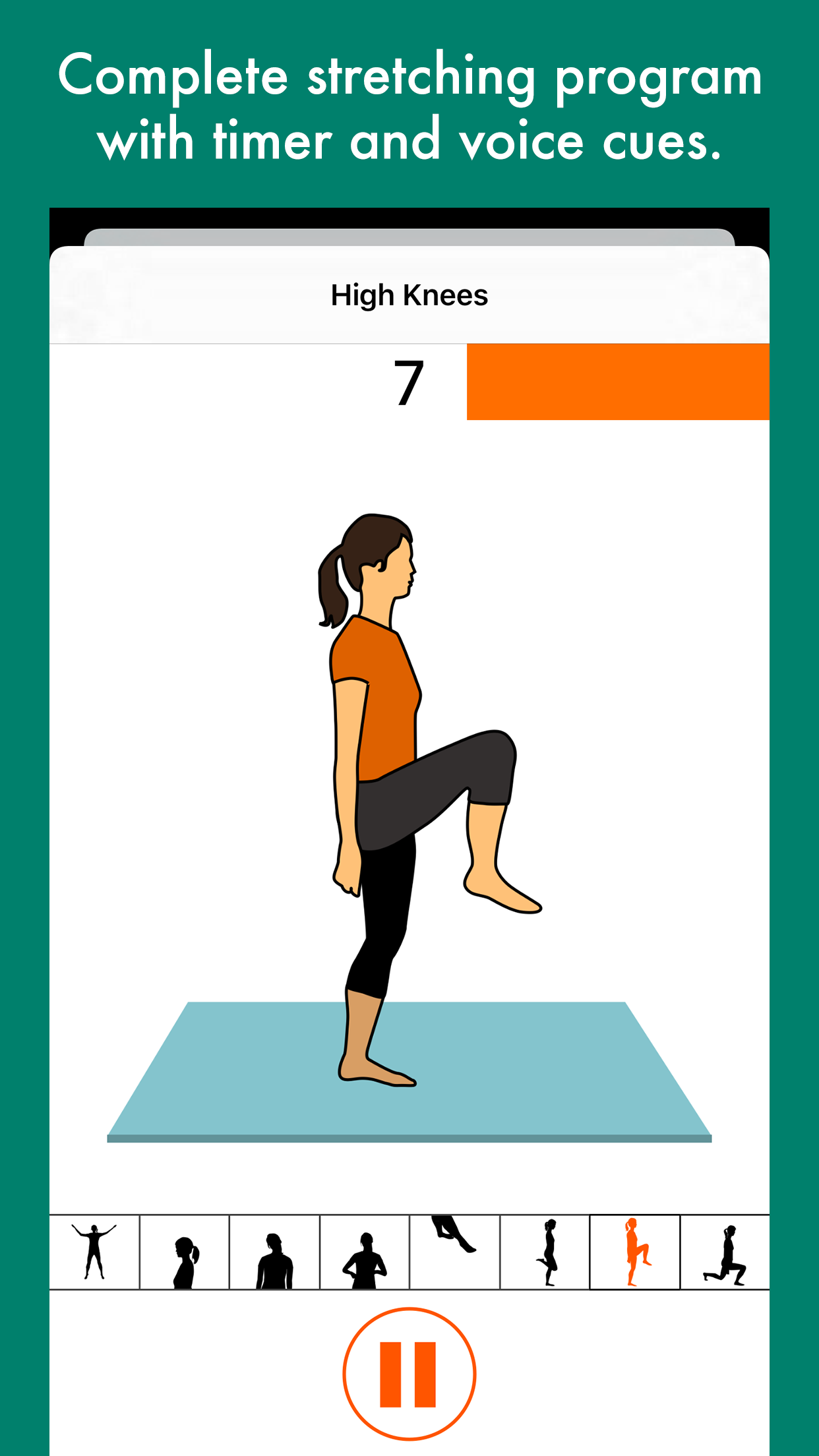 Run 10k For Iphone Circuit Training Timer Screen Workout Complete